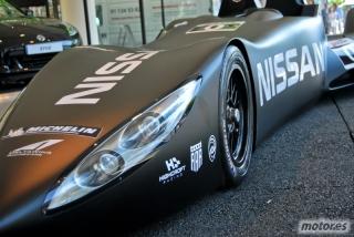 Nissan DeltaWing y Lucas Ordóñez Foto 7