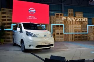 Nissan e-NV200, presentación Foto 1