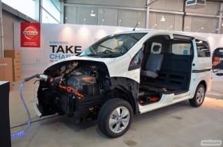 Nissan e-NV200, presentación Foto 5