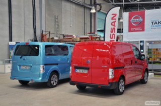 Nissan e-NV200, presentación Foto 11