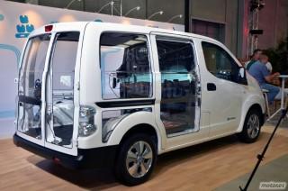 Nissan e-NV200, presentación Foto 89