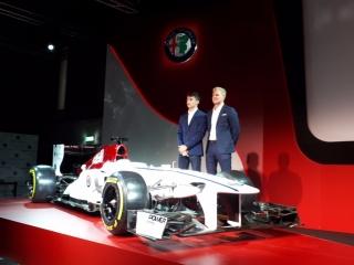 Fotos Presentación Alfa Romeo Sauber F1 Team - Foto 6