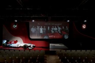 Fotos Presentación Alfa Romeo Sauber F1 Team Foto 9