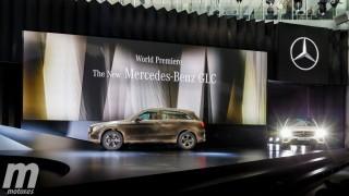 Presentación Internacional Mercedes-Benz GLC Foto 3
