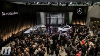 Presentación Internacional Mercedes-Benz GLC Foto 9