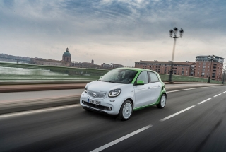 Presentación Smart Forfour Electric Drive Foto 6