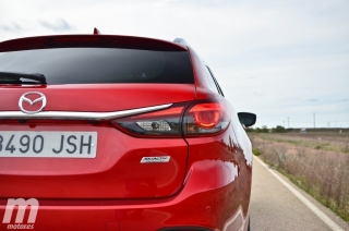 Prueba Mazda6 Wagon 2.2 Diesel AWD AT Foto 20