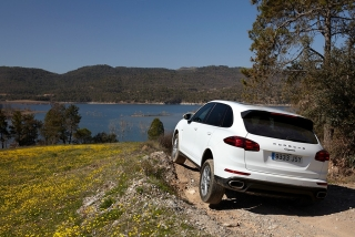 Prueba offroad Porsche Cayenne Foto 16