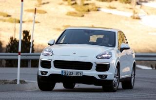 Prueba offroad Porsche Cayenne Foto 25