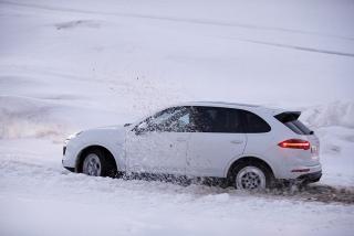 Prueba offroad Porsche Cayenne Foto 29