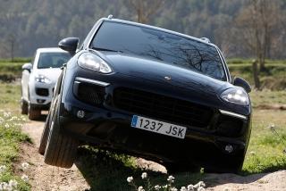 Prueba offroad Porsche Cayenne Foto 41