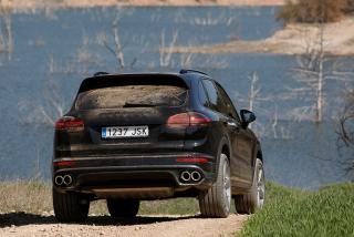 Prueba offroad Porsche Cayenne Foto 44