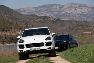 Prueba offroad Porsche Cayenne Foto 46