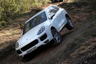 Prueba offroad Porsche Cayenne Foto 47