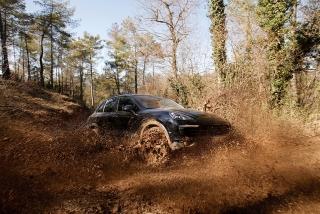Prueba offroad Porsche Cayenne Foto 52