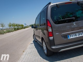 Prueba Peugeot Partner Tepee Outdoor - Miniatura 7