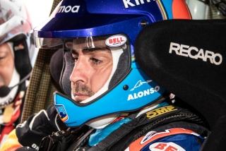 Foto 3 - Fotos test Fernando Alonso con el Toyota Hilux del Dakar