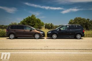 Fotos VW Touran 2011 vs VW Touran 2016 Foto 13