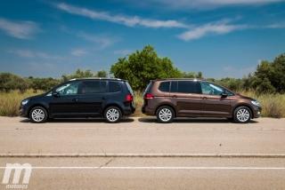 Fotos VW Touran 2011 vs VW Touran 2016 Foto 12