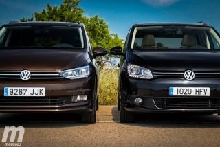 Fotos VW Touran 2011 vs VW Touran 2016 Foto 3