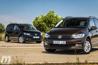 Fotos VW Touran 2011 vs VW Touran 2016 Foto 8