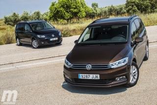 Fotos VW Touran 2011 vs VW Touran 2016 Foto 9