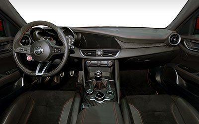 Alfa Romeo Giulia Giulia Quadrifoglio 2.9T V6 375kW (510CV)  AT (2020)