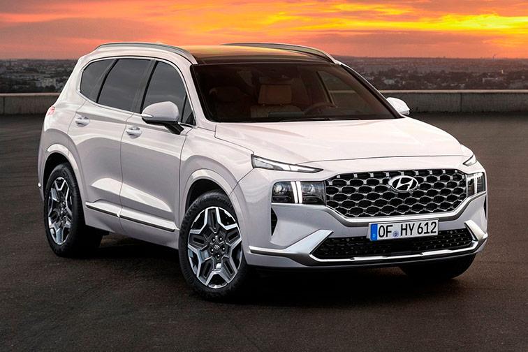 Imagen del Hyundai Santa Fe