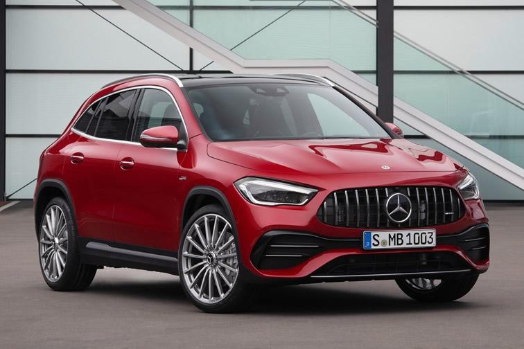 Imagen del Mercedes GLA AMG