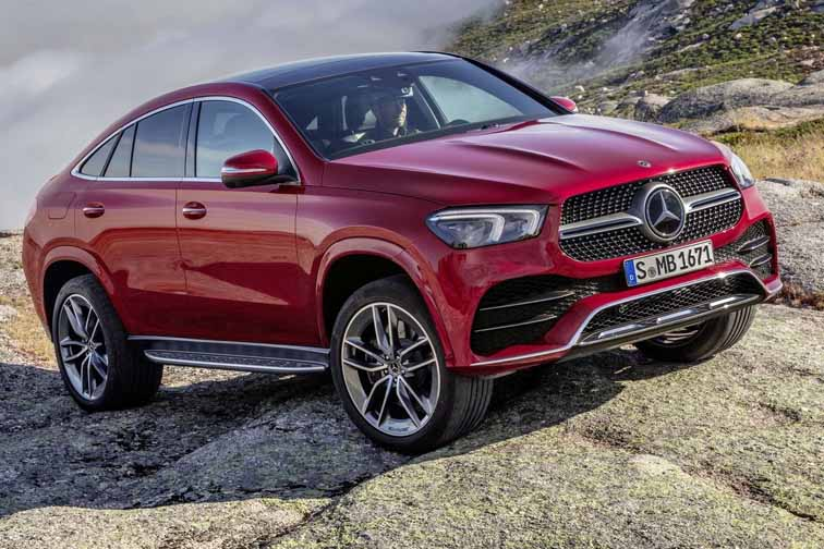 Imagen del Mercedes GLE Coupé