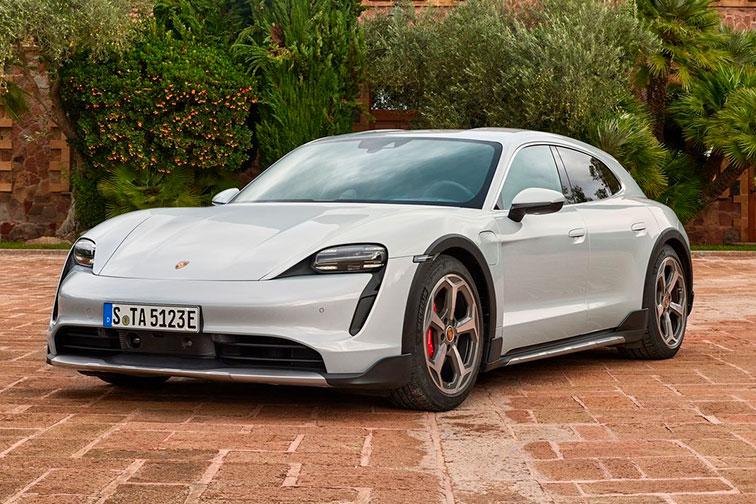 Imagen del Porsche Taycan Cross Turismo