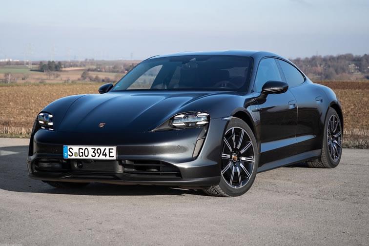 Imagen del Porsche Taycan