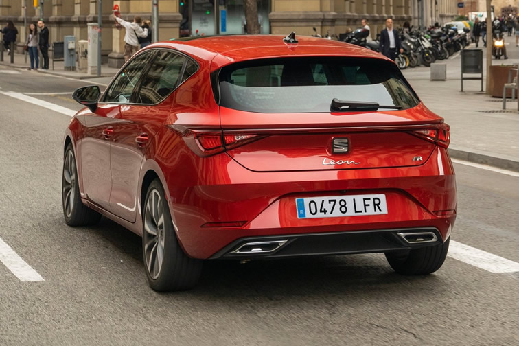 Imagen del SEAT León FR