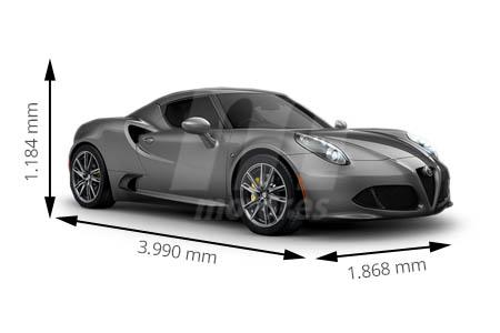 Medidas de coches Alfa Romeo