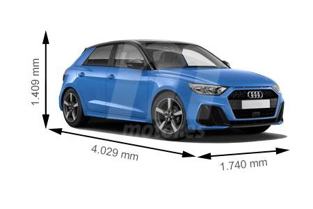 Medidas de coches Audi