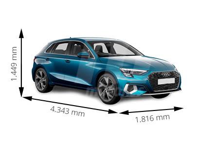 Medidas Audi A3 Longitud Anchura Altura Y Maletero