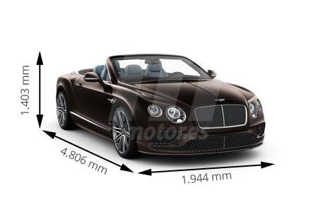 Medidas Bentley