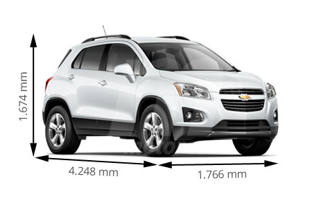 Medidas Chevrolet