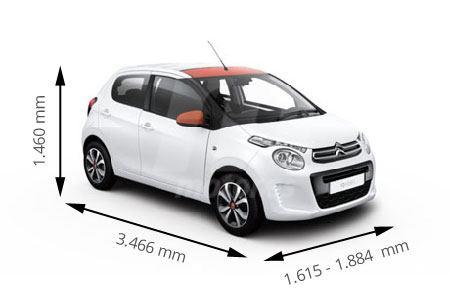 Medidas Citroën
