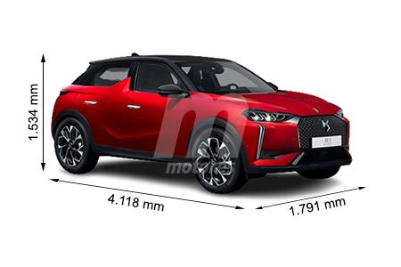 Medidas de coches DS