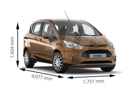 Medidas de coches Ford
