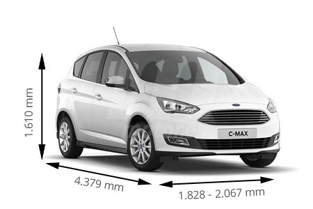 Medidas de coches Ford