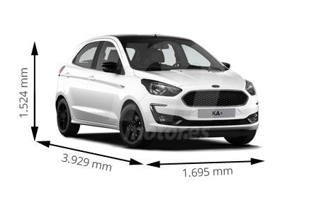 Medidas Ford Ka Longitud Anchura Altura Y Maletero Motor Es