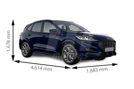 Medidas Ford Kuga Longitud Anchura Altura Y Maletero Motor Es