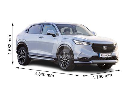 Medidas Honda