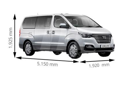 Medidas de coches Hyundai