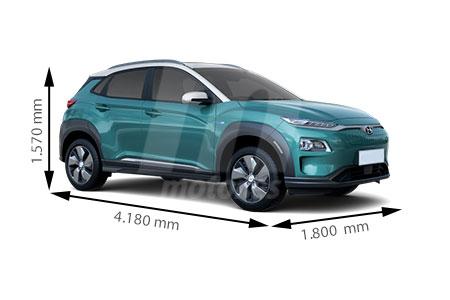 Medidas Hyundai Kona Longitud Anchura Altura Y Maletero