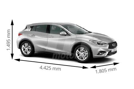 Medidas de coches Infiniti