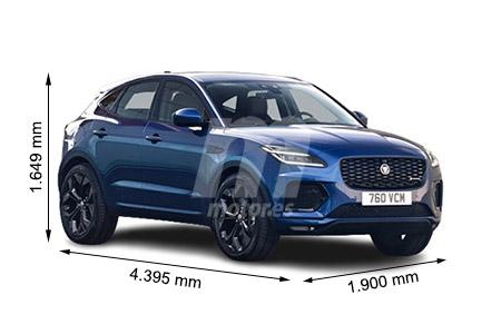 Medidas de coches Jaguar