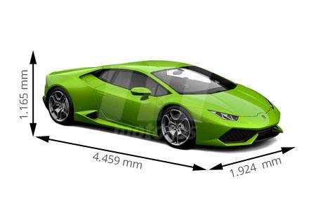 Medidas Lamborghini